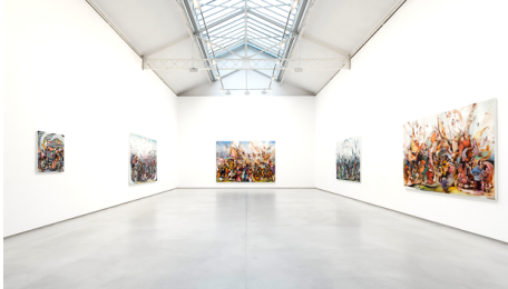 Ali Banisadr -In Medias Res Galerie Thaddaeus Ropac