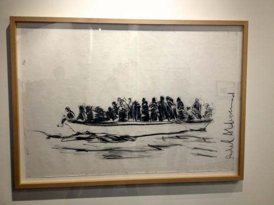 Adel Abdessemed Lampedusa #3 130x189 ©Thegazeofaparisienne