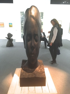 Jaume Plensa Paula, 2015 Bronze 177x60x63 cm ©Thegazeofaparisienne