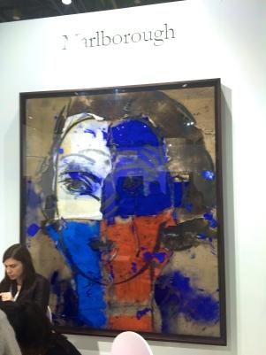 Manolo Valdès, Alice III peinture à l huile 230x190 ©Thegazeofaparisienne