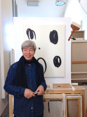 Korean artist, Lee Bae in his Parisian studio. ©Thegazeofaparisienne