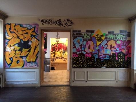 Street art à Saint Germain des Près