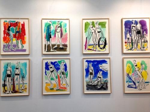 Alain Séchas Galerie Laurent Godin