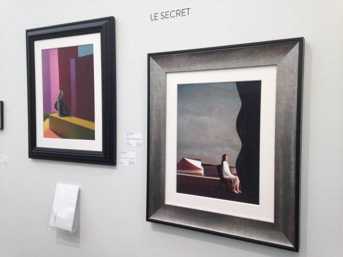 """Clark et Pougnaud Série """"Le Secret"""" 2015 Galerie Photo 12 Art Paris"""