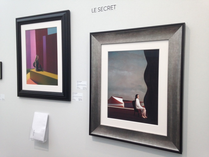 "Clark et Pougnaud Série ""Le Secret"" 2015 Galerie Photo 12 Art Paris"