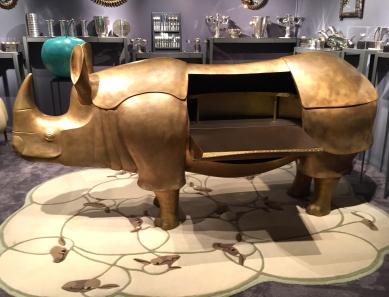 Rhinoceros bar Lalanne Galerie Jean David Botella ©TheGazeofaParisienne