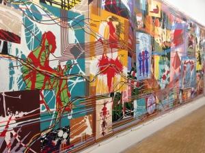 """Gérard Fromanger """"De toutes les couleurs, peinture d'Histoire, 1991-1992"""""""