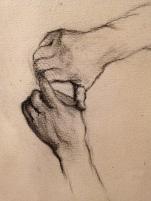 """Gustave Caillebotte """"Etude pour les raboteurs de parquet"""" 1875 (détail)"""