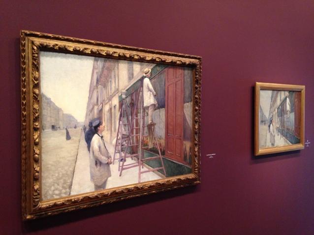 """Gustave Caillebotte """"Les peintres du bâtiment"""" 1877. ©TheGazeofaParisienne"""