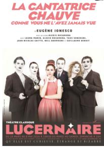 La cantatrice chauve Théâtre Lucernaire
