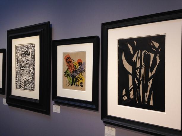 Nicolas de Staël Fernand Léger Dubuffet Galerie Antoine Laurentin