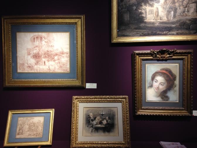 Elisabeth Vigée Lebrun Hubert Robert Galerie de Bayser ©TheGazeofaParisienne