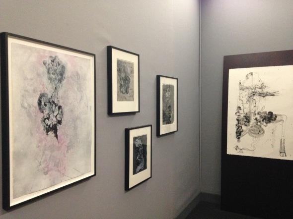 Cameron Jamie (né en 1969) Lauréat du prix de dessin contemporain. Fondation Daniel et Florence Guerlain