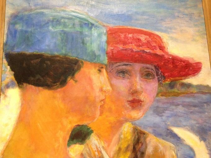 """Pierre Bonnard """"Jeunes filles à la mouete"""" 1917 Collections permanentes Petit Palais"""