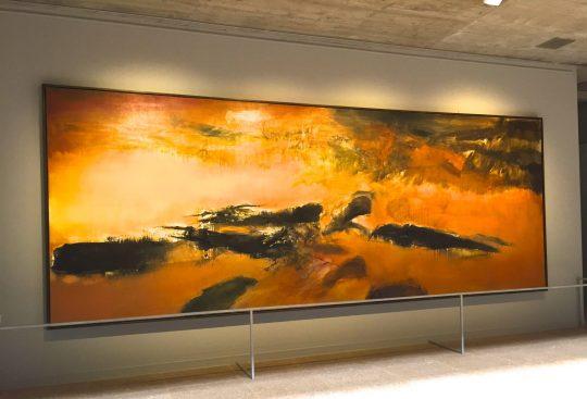 En Mémoire de May 1972, 200x525 cm Centre Georges Pompidou. Don de l'Artiste à l'état Français en méoire de son épouse. ©TheGazeofaParisienne