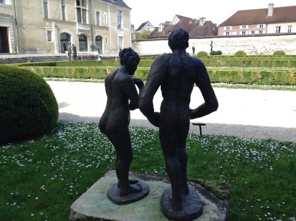 """""""Anna et l'homme des bois"""" 1978-1979 Musée d'art moderne de Troyes ©TheGazeofaParisienne"""