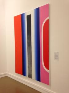 """Alain Séchas """"Untitled 49"""" 2012 Huile sur toile 235 X170"""