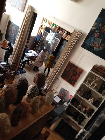 View of the studio ©TheGazeofaParisienne