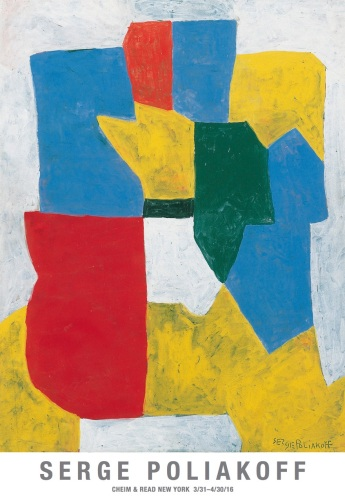 Serge Poliakoff. Cheim & Read. New York. 30 mars - 30 avril 2016