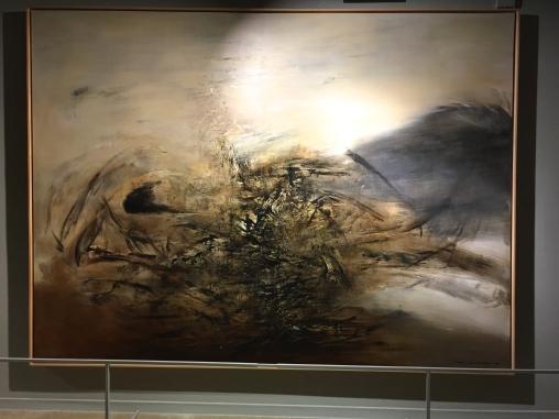 Hommage à Edgar Varèse 1964, 255x345 cm Musée cantonal de beaux Arts de Lausanne, don F. Marquet. ©TheGazeofaParisienne
