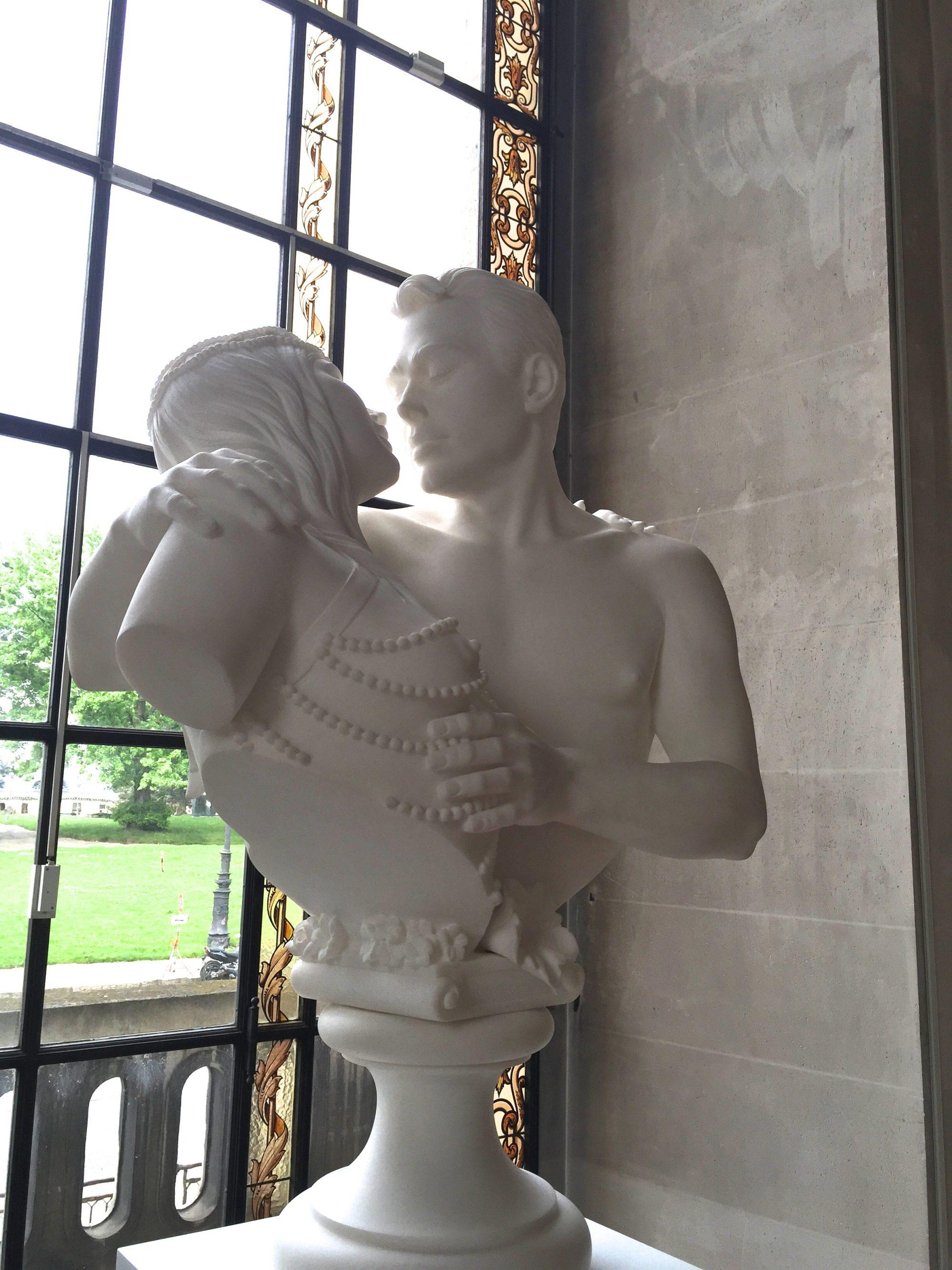 Jeff Koons Bourgeois Bust- Ilona et moi ©Thegazeofaparisienne