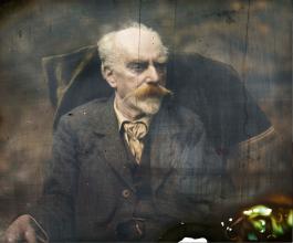 Gabriel Lippmann, autoportrait 1892 © Musée de l'Elysée