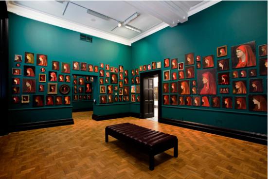 Francis Alÿs: Fabiola Vue de l' installation. © National Portrait Gallery, Londres 2/5- 20 /9/2009 Organisé par Dia Art Foundation