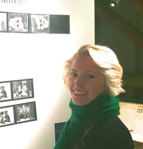 Tatyana Franck, ,commissaire de l'exposition et directrice du Musée de L'Elysée de Lausanne.