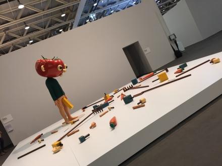 "Paul McCarthy ""Tomato Head"" Unlimted, ©Thegazeofaparisienne"