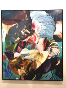Adrian Ghenie Degenerate art, 2016 ©Thegazeofaparisienne