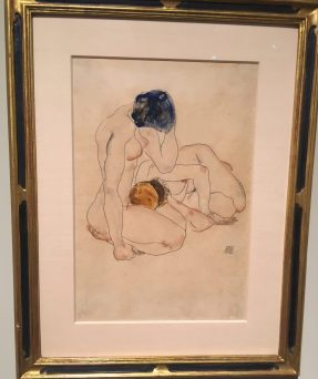 Egon Schiele Two friends, 1912 ©Thegazeofaparisienne