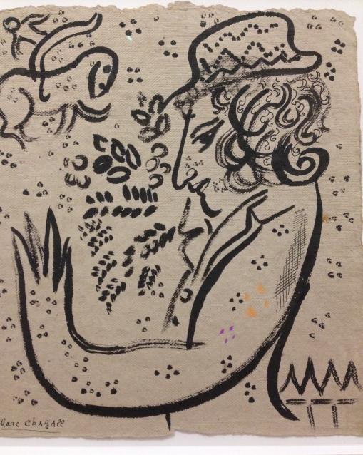 Ma Vie, 1958 Couverture dition allemande Encre de chine et crayon gras