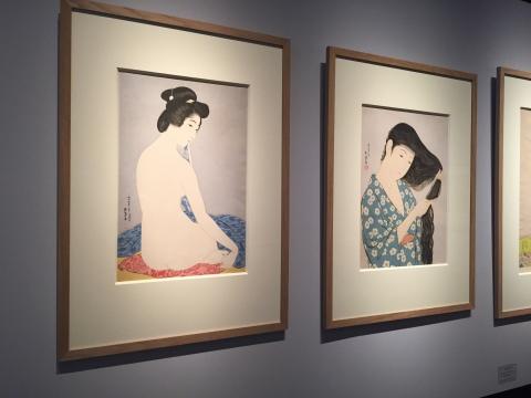 Hashiguchi Femme après le bain, 1920 Galerie Tanakaya ©Thegazeofaparisienne