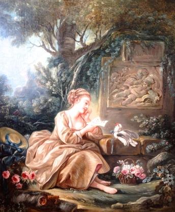 François Boucher Le messager discret, 1768 Galerie JF Heim Basel