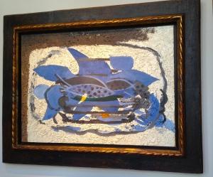 Braque Aquarium Bleu,1960-62 Galerie JF Heim Basel