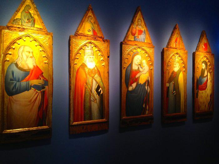Polyptique Giovani del Biondo 1371 Galerie G. Sarti