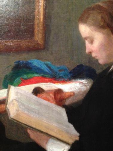 """""""Les deux soeurs"""" 1859 (détail) Saint Louis, Saint Louis Art Museum."""