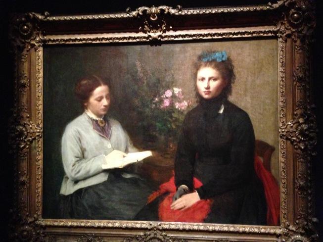 """La lecture"" 1870 Fondation Calouste Gulbenkian"