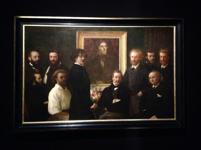 Hommage à Delacroix 1864 Musée d'Orsay