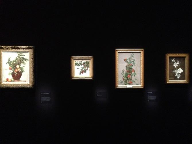 Série de compositions florales.