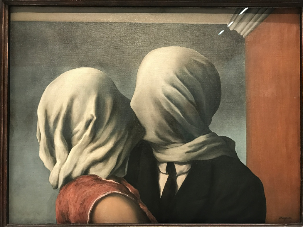 """Les amants"" 1928 The Museum of Modern Art. NY"