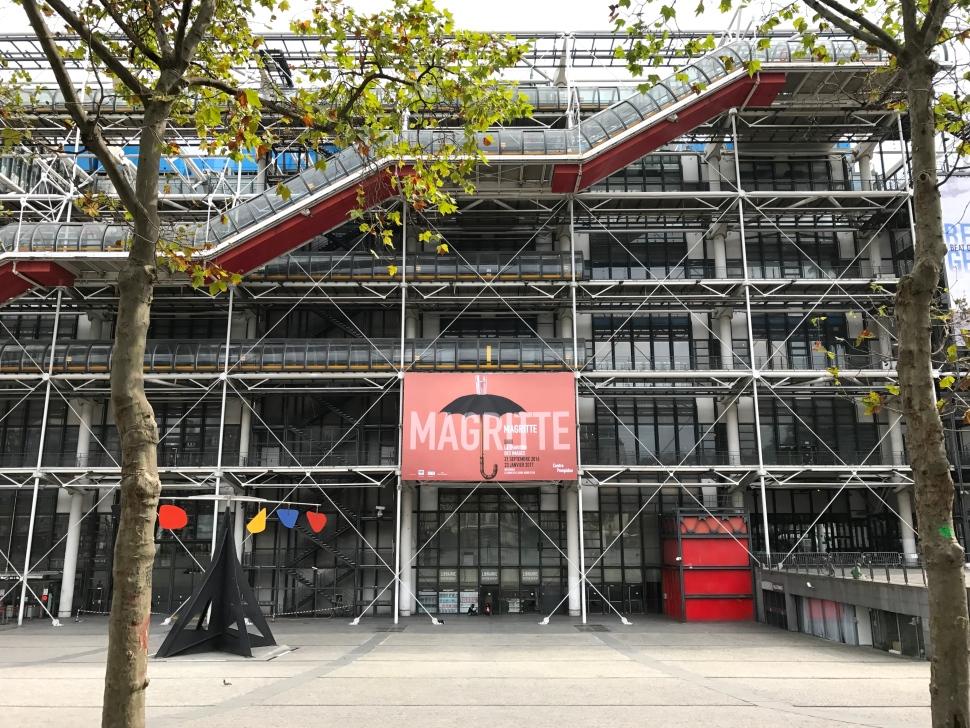 Centre Pompidou ©Thegazeofaparisienne