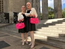 Eva et Adèle Musée d'Art Moderne ©Thegazeofaparisienne