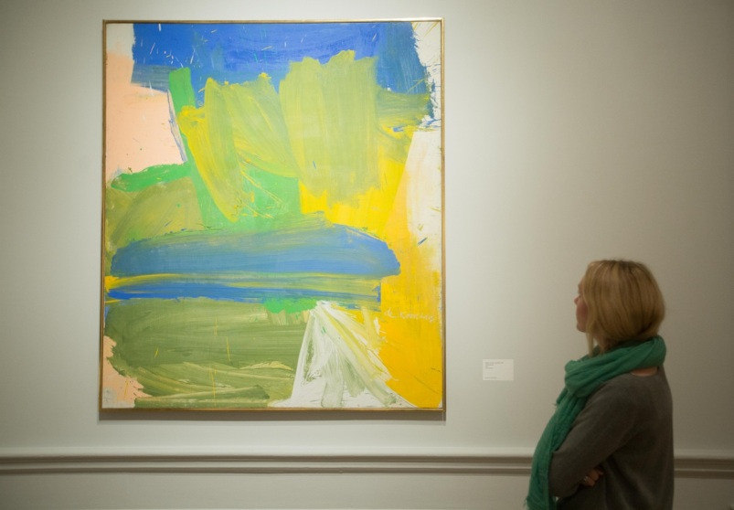 Willem de Kooning, Villa Borghese, 1960. Oil on canvas, 203 x 178 cm. Guggenheim Museum Bilbao. Reproduced with kind permission from the Royal Academy. Photo. © David Parry.