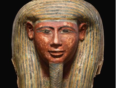 Masque de Momie Egyptienne Kallos Gallery ©Thegazeofaparisienne