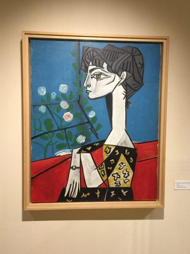 Madame Z (Jacqueline aux fleurs), 1954 ©Thegazeofaparisienne