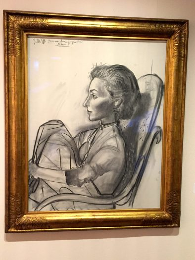 Jacqueline aux jambes repliées, 1954 ©Thegazeofaparisienne