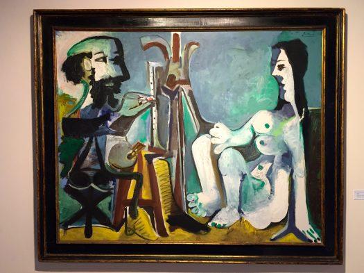 Le peintre et son modèle, 1963 ©Thegazeofaparisienne