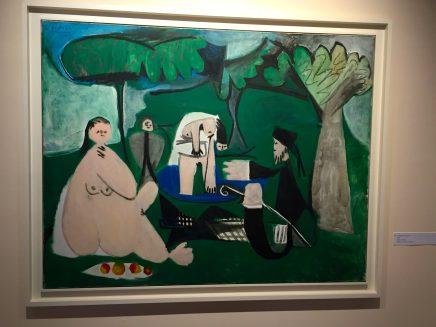 Le déjeuner sur l'herbe, 1960, Nahmad collection ©Thegazeofaparisienne