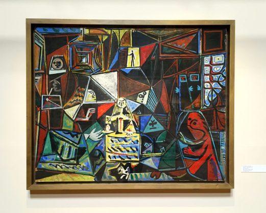 Les Ménines, fond rouge 1957, Musée Picasso de Barcelone ©Thegazeofaparisienne